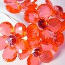 Red Flower Bouquet Jewels