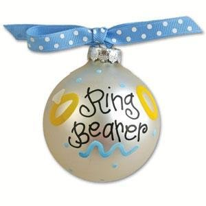 Ring Bearer Wedding Day Ornament OR-8