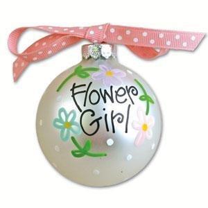Flower Girl Wedding Day Ornament OR-9