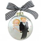 Just Married Bridal Ornament OR-1