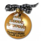 Wedding Cake Ornament OR-2