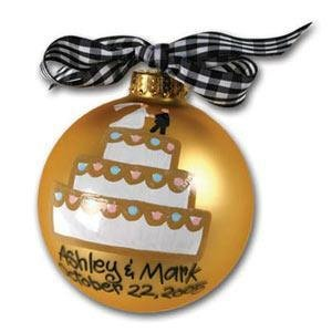 Wedding Cake Ornament OR-2