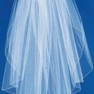 Pencil Edge Elbow Length Veil (VP E)