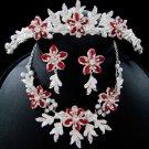 Couture Crystal Matching Jewelry & Tiara Set NE 8100 & HP 8100