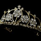 Gold with Clear Crystals Child's Tiara HPC 400