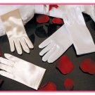 Child's Satin Wrist Length Gloves ~ GL Child SW