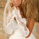 Designer Fingerless Bridal Glove GL9128V-10A