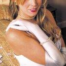 Matte Satin Above Elbow Formal Bridal Gloves GL-MA