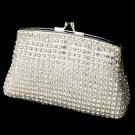 Elegant Crystal Rhinestone Mesh Evening Bag EB 8
