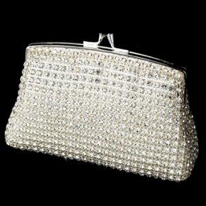 Elegant Crystal Rhinestone Mesh Evening Bag EB 8