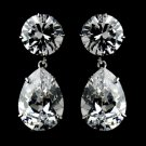 Gorgeous Cubic Zirconium Teardrop Earrings E 5372