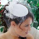 Vintage Bridal Hat with Bird Cage Veil HP 8306