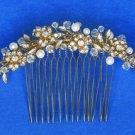 Crystal Bridal Comb 8839