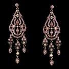 Dazzling Pink Earrings E 988