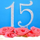 Sweet 15 & 16 Cake Topper Set