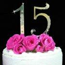Sweet 15 Birthday Cake Topper