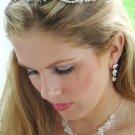 Crystal Bridal Jewelry & Tiara Set NE 7600 & HP 2433