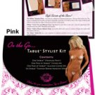 Shibue on the go, strapless panty, cover ups, silicone cover ups, repair adhesives pink s/m