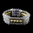 Festive Gold Crystal Bracelet 8503