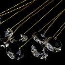 Elegant Gold Crystal Bouquet Jewels BQ 101 (Set of 10)