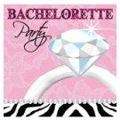 Bachelorette party diamond 3 ply napkin - pack of 16