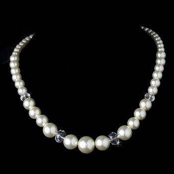 Necklace 7361 Ivory