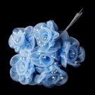 Light Blue Flower Bunch BQ 7016