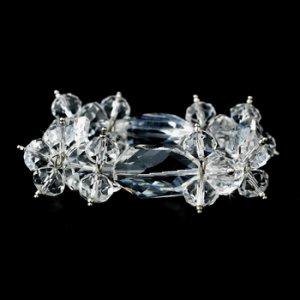 Clear Dazzling Austrian Crystal Bracelet 8560