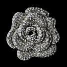 Silver Flower Brooch 113