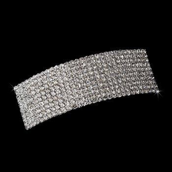 Barrette 1130 Silver Clear