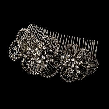 Crystal Vintage Bridal Hair Comb 598