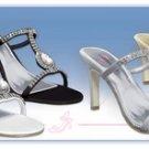 Majesty Elegant Rhinestone Evening Shoe