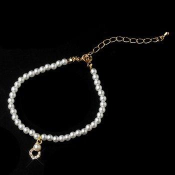 Child's Gold Ivory Bracelet B-404