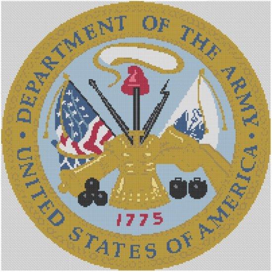 Army Logo Cross Stitch E-Pattern