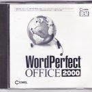 Corel WordPerfect Office 2000--FREE SHIPING