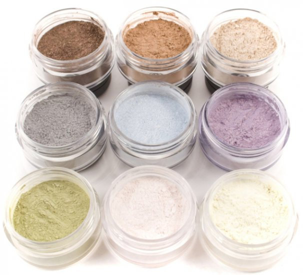 9pc SUMMER Mineral Eye Shadow Kit