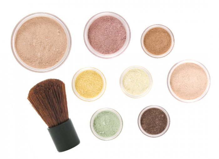 10pc VINTAGE Mineral Makeup Kit