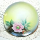 Vintage Noritake Morimura Hand Painted Floral Plate 6 1/4 Inches 1920's