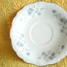 Johann Haviland Blue Garland Design Saucer for Flat Cup 6 1/4 Inches