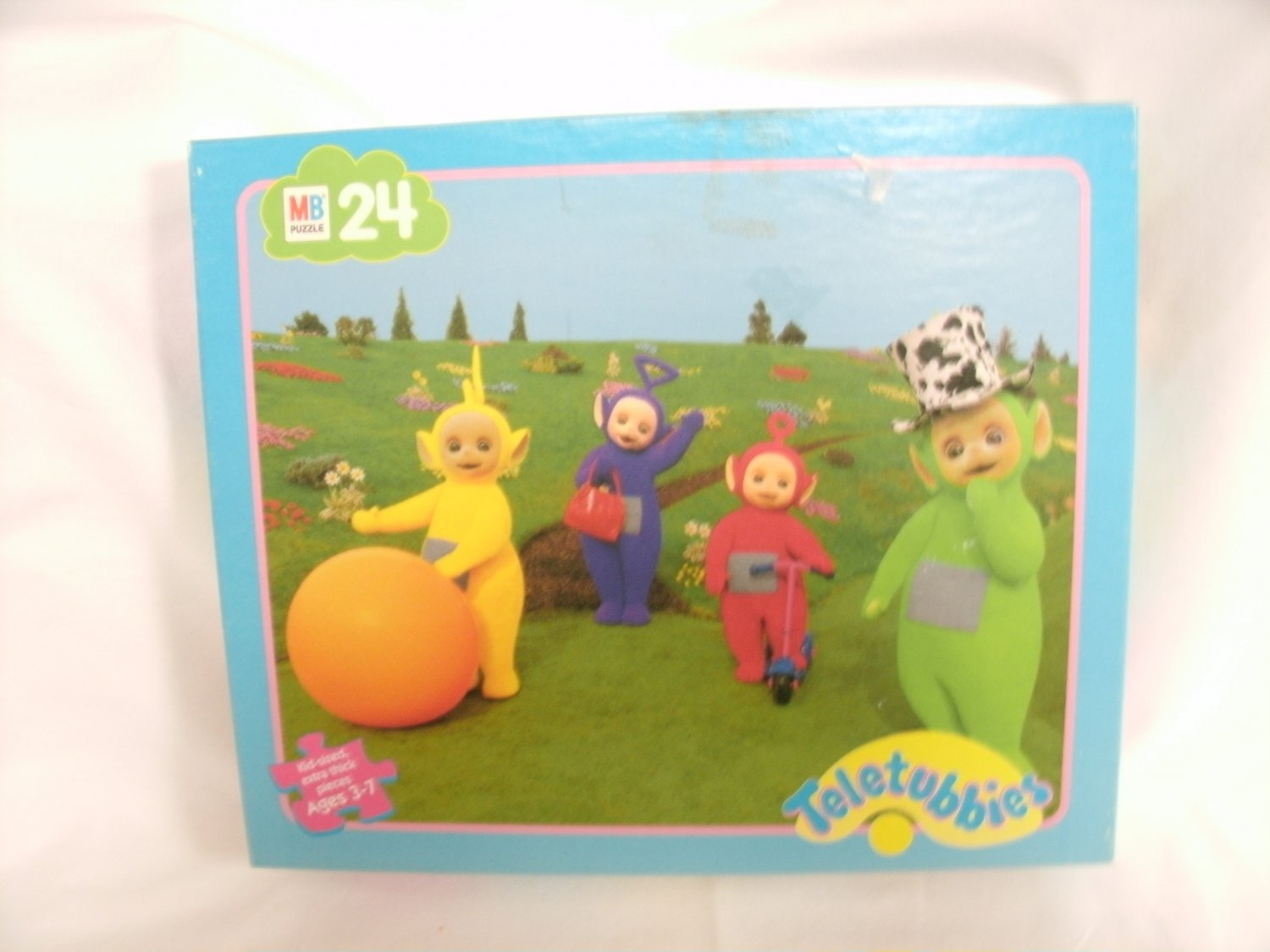 24 Piece Puzzle 1999 Teletubbies Extra Thick Pieces