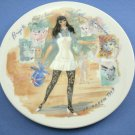Women of The Century Plate Brigette, Letter Of Authenticity 8 1/2 inches Henri D'Arceau