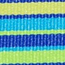 Blue + Yellow Stripe