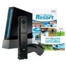 Nintendo Wii 4-Player Sports Bundle #1 (Black)