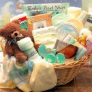 Deluxe  Welcome Home Baby! Gift Basket - Blue
