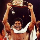 BOXING- LEON SPINKS- Heavyweight Champion- COLOR