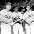 BROOKLYN DODGERS DUKE SNIDER, WILLIE MAYS, STAN MUSIAL
