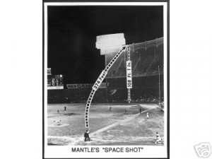 NEW YORK YANKEES- MICKEY MANTLE 'SPACE SHOT'