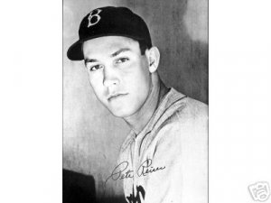 BROOKLYN DODGERS- YOUNG PETE REISER 1942