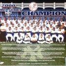 NEW YORK YANKEES 2000 WORLD CHAMPIONS