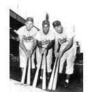 DUKE SNIDER & GIL HODGES AT THE POLO GROUNDS 11x14 SIZE